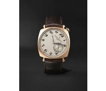 Historiques American 1921 Hand-Wound 40mm 18-Karat Pink Gold and Alligator Watch, Ref. No. 82035/000R-9359