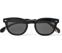 Sheldrake Round-frame Acetate Polarised Sunglasses