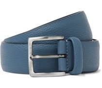 3.5cm Full-Grain Leather Belt