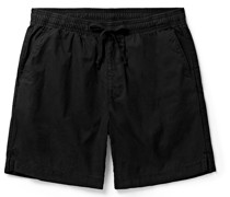 Easy Cotton-Twill Drawstring Shorts