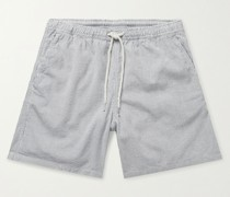 Hill Striped Cotton Drawstring Shorts