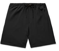 Stretch-Jersey Drawstring Shorts