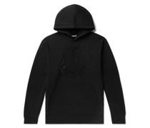 2 Moncler 1952 Logo-Embellished Fleece-Back Cotton-Jersey Hoodie