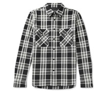 Jack Checked Cotton-Twill Shirt Jacket