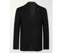 Unstructured Cashmere and Wool-Blend Blazer