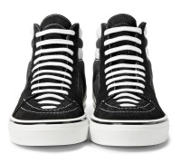George V Suede And Cotton-canvas High-top Sneakers