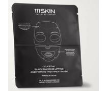 Celestial Black Diamond Lifting and Firming Treatment Mask, 4 x 74ml