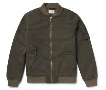 Alexander Organic Cotton-canvas Bomber Jacket