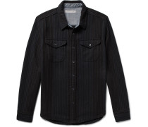 Striped Organic Cotton-twill Shirt