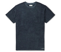 Scotty Logo-Embroidered Organic Cotton-Terry T-Shirt