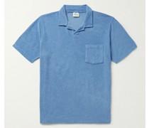 Cotton-Terry Polo Shirt