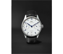 Portugieser Automatic 42.3mm Stainless Steel and Alligator Watch, Ref. No. IW500705
