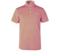 Airflow Striped Stretch-Jersey Golf Polo Shirt