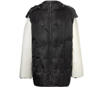 Oversized Shell Hooded Down Jacket
