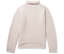 Nalle Ribbed Wool Rollneck Sweater
