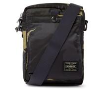 Counter Shade Camouflage-Print Nylon Messenger Bag