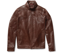 Washed-leather Jacket