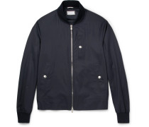Virgin Wool And Silk-blend Bomber Jacket