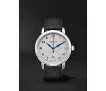Star Legacy Automatic Date 39mm Stainless Steel and Alligator Watch, Ref. No. 116522