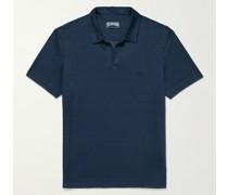 Pyramid Linen-Jersey Polo Shirt