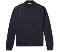 Loopback Cotton-jersey Bomber Jacket