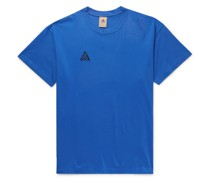 ACG NRG Logo-Embroidered Cotton-Jersey T-Shirt