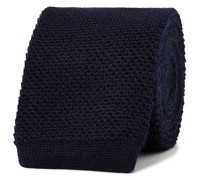 6mm Knitted Cashmere and Silk-Blend Tie