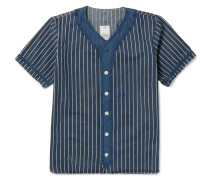 Dugout Indigo-dyed Cotton Shirt