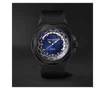 Laureato Absolute WW.TC Automatic 44mm PVD-Coated Titanium and Rubber Watch, Ref. No.  81065-21-491-FH6A