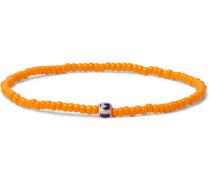 Gold, Bead And Enamel Bracelet