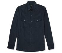 Button-down Collar Cotton-corduroy Shirt