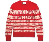 Loved Slim-fit Wool-jacquard Sweater