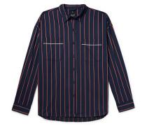 Oversized Striped Cotton-twill Shirt