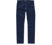 Slim-fit Washed-denim Jeans
