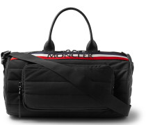 Striped Quilted Shell Holdall