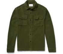 Cotton-moleskin Overshirt