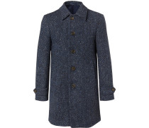 Donegal Herringbone Wool Coat
