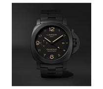 Luminor Tuttonero GMT Automatic 44mm Ceramic Watch, Ref. No. PAM01438