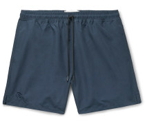 Mid-Length Shell Swim Shorts