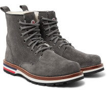New Vancouver Shearling-lined Suede Boots