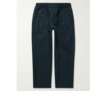 Cotton-Blend Trousers