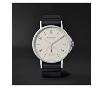 Ahoi Automatic 40mm Stainless Steel and Nylon Watch, Ref. No. 550