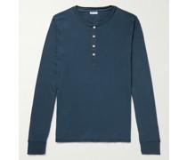 Karl Heinz Cotton-Jersey Henley Pyjama T-Shirt