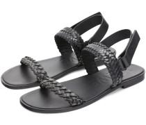 + Paula's Ibiza Braided Leather Sandals