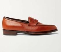 Bradley II Full-Grain Leather Penny Loafers