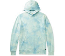 Tie-Dyed Loopback Cotton-Jersey Hoodie