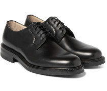 Shannon Whole-cut Polished-leather Derby Shoes