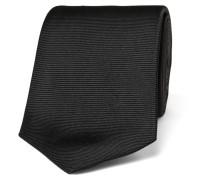 8cm Ribbed Silk Tie