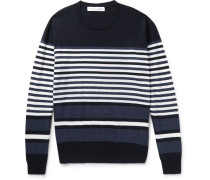 Lucas Striped Merino Wool Sweater