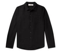 Leo Textured-Cotton Shirt